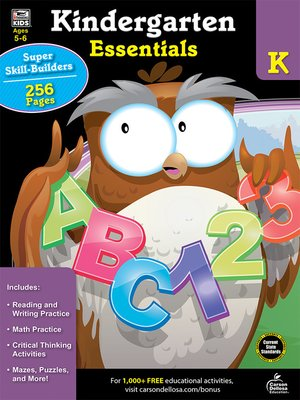 cover image of Kindergarten Essentials
