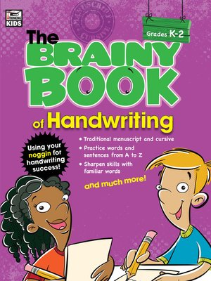 cover image of Brainy Book of Handwriting