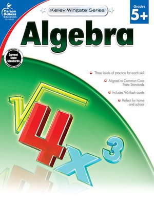 cover image of Algebra, Grades 5 - 12
