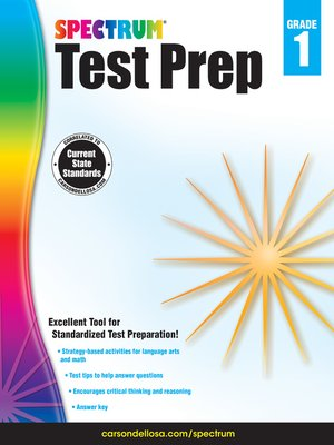 cover image of Spectrum Test Prep, Grade 1