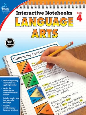 cover image of Language Arts, Grade 4