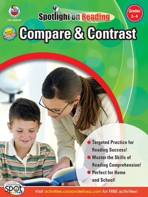 cover image of Compare & Contrast, Grades 3 - 4