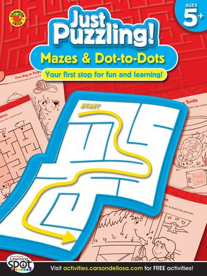 cover image of Mazes & Dot-to-Dots, Grades K - 2