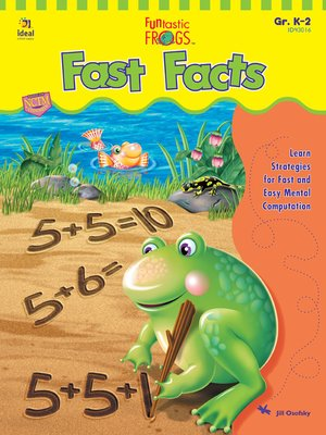 cover image of Funtastic Frogs Fast Facts, Grades K - 2