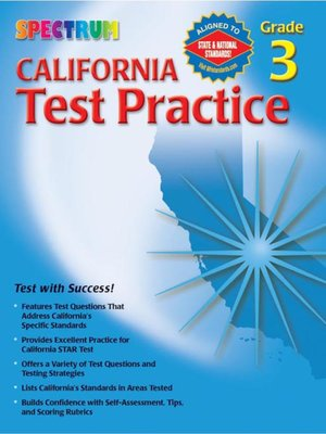 cover image of California Test Practice, Grade 3