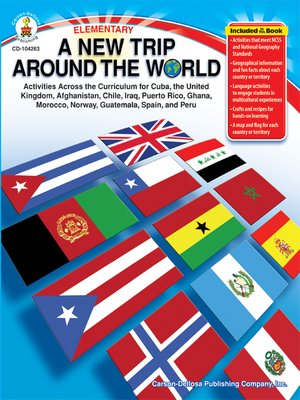 cover image of A New Trip Around the World, Grades K - 5