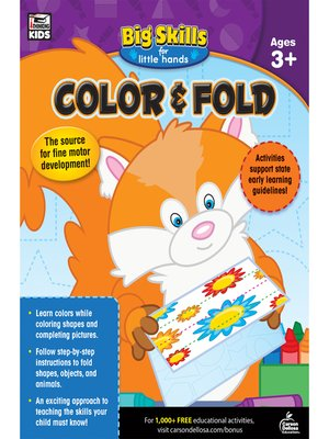 cover image of Color & Fold, Ages 3--5