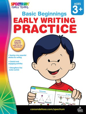 cover image of Early Writing Practice, Grades Preschool - K