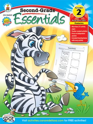 cover image of Second-Grade Essentials, Grade 2