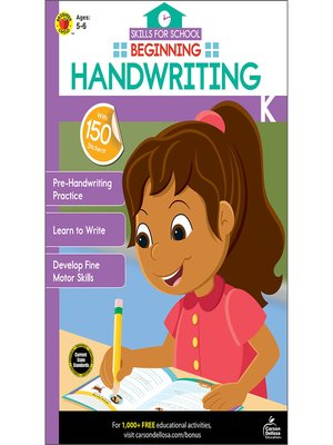 cover image of Beginning Handwriting, Grades K--1