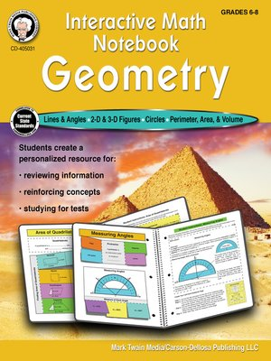 cover image of Interactive Math Notebook