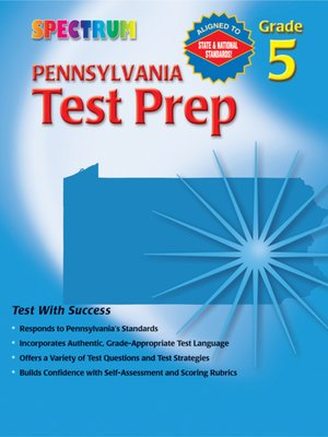 cover image of Pennsylvania Test Prep, Grade 5