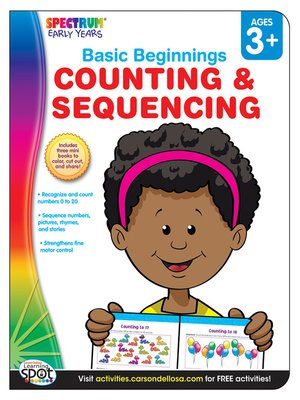 cover image of Counting & Sequencing, Grades Preschool - K