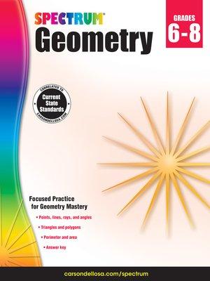 cover image of Spectrum Geometry