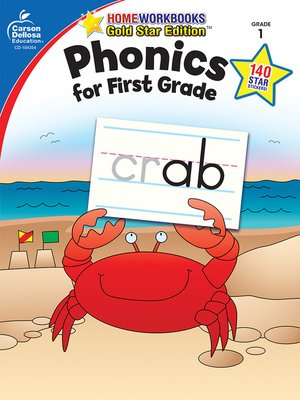 cover image of Phonics for First Grade, Grade 1
