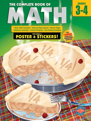 cover image of The Complete Book of Math, Grades 3--4