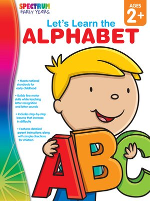 cover image of Let's Learn the Alphabet, Grades Toddler - PK