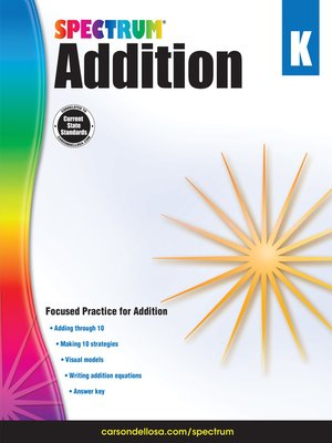 cover image of Addition, Grade K