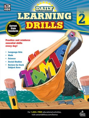 cover image of Daily Learning Drills, Grade 2