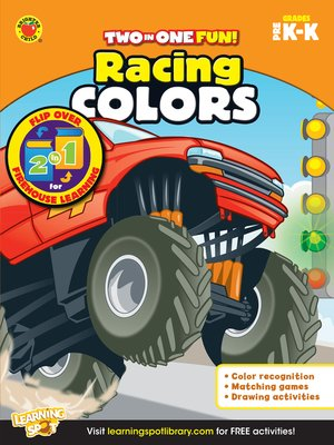 cover image of Racing Colors & Firehouse Learning, Grades PK - K