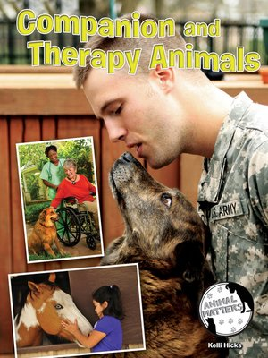 cover image of Companion and Therapy Animals