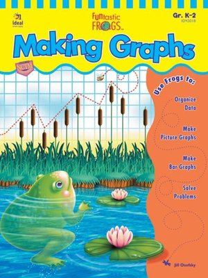 cover image of Funtastic Frogs Making Graphs, Grades K - 2