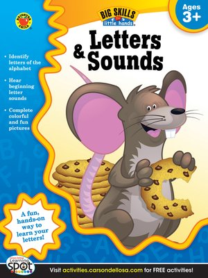 cover image of Letters & Sounds, Grades Preschool - K
