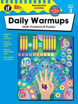 cover image of Daily Warmups, Grade 2