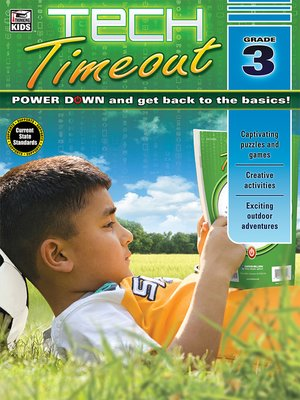cover image of Tech Timeout, Grade 3