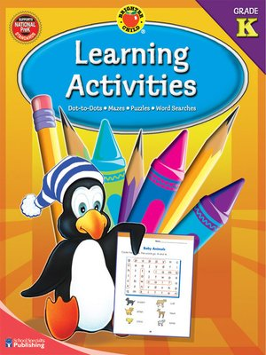 cover image of Learning Activities, Grade K