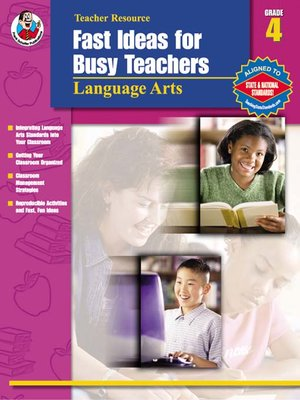 cover image of Fast Ideas for Busy Teachers: Language Arts, Grade 4