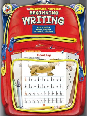 cover image of Beginning Writing, Grades PK--1