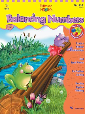 cover image of Funtastic Frogs Balancing Numbers, Grades K - 2