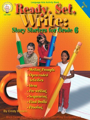 cover image of Ready, Set, Write, Grade 6