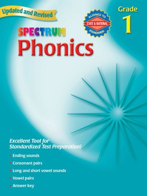 cover image of Phonics, Grade 1