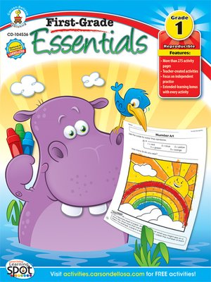cover image of First-Grade Essentials, Grade 1