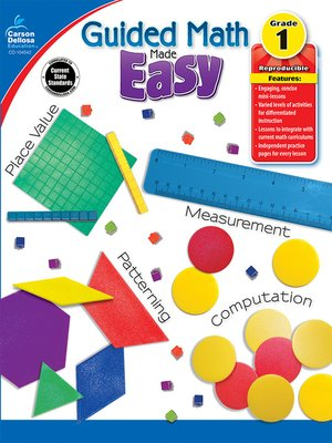 cover image of Guided Math Made Easy, Grade 1