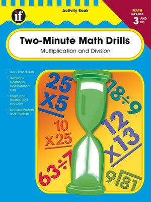 cover image of Two-Minute Math Drills, Grades 3 - 5
