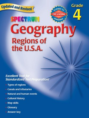 cover image of Geography, Grade 4