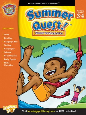 cover image of Summer Quest™, Grades 3 - 4
