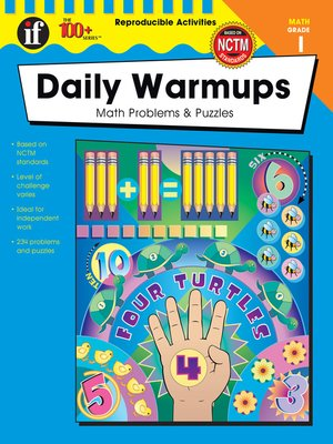 cover image of Daily Warmups, Grade 1