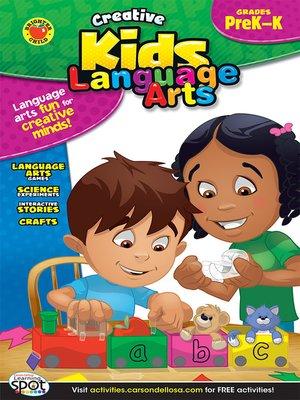cover image of Language Arts, Grades PK - K