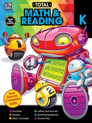cover image of Total Math and Reading, Grade K