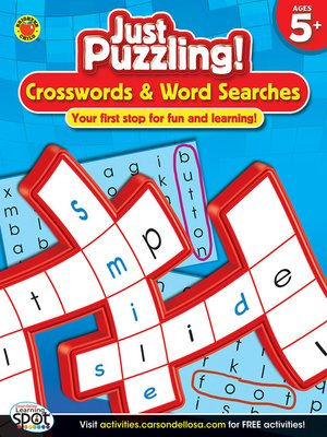 cover image of Crosswords & Word Searches, Grades K - 2