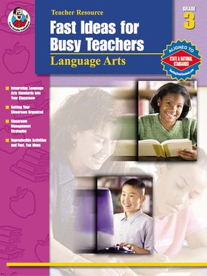 cover image of Fast Ideas for Busy Teachers: Language Arts, 3