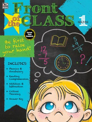 cover image of Front of the Class, Grade 1