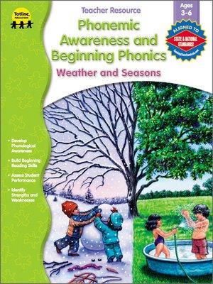 cover image of Phonemic Awareness and Beginning Phonics, Grades Preschool - 1