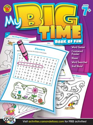 cover image of My Big Time Book of Fun, Grades 2 - 5