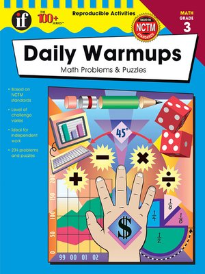 cover image of Daily Warmups, Grade 3