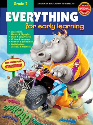 cover image of Everything for Early Learning, Grade 2